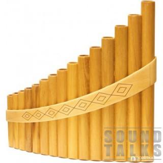 Hora Пан-флейта Panpipe 15 acacia/maple Alto Maple