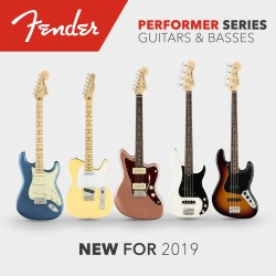 NAMM 2019: Новая линейка гитар Fender 2019 года - Fender American Performer Series