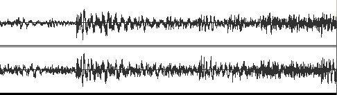 Аудио файл до лимитирования