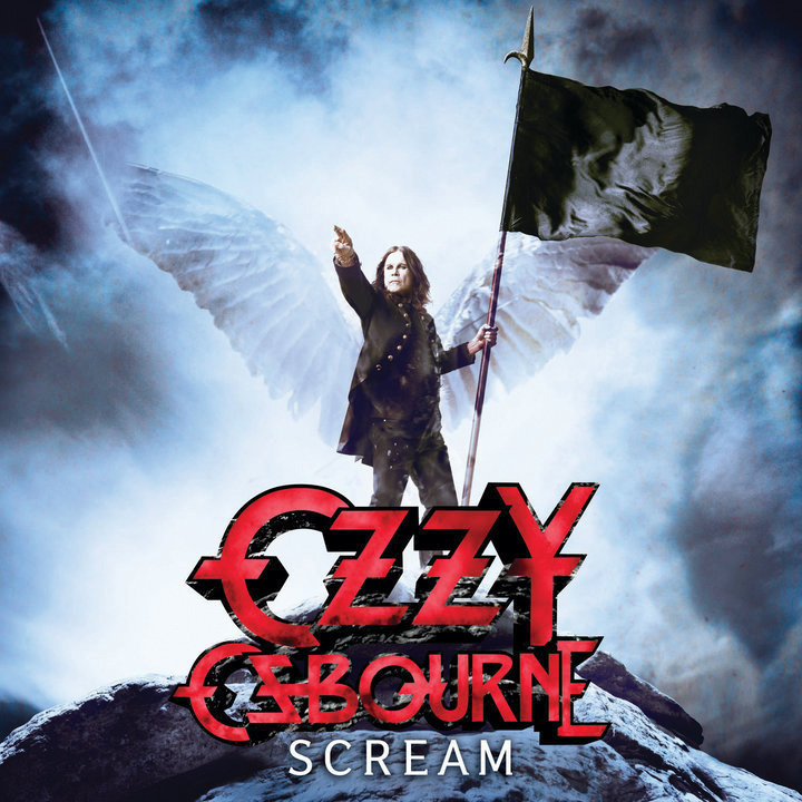 "Альбом Ozzy Osbourne ""Scream"""